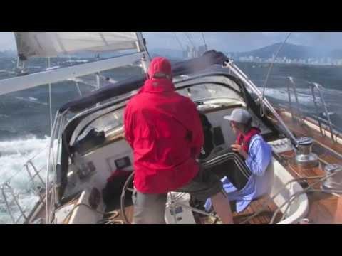 Contest 55, sailing, 40kt wind, Haeundae, Busan, Korea,
