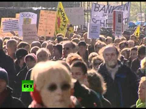 Occupy Europe: Thousands march in Germany & Spain