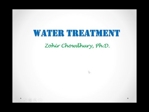 M6.6: Drinking Water Treatment