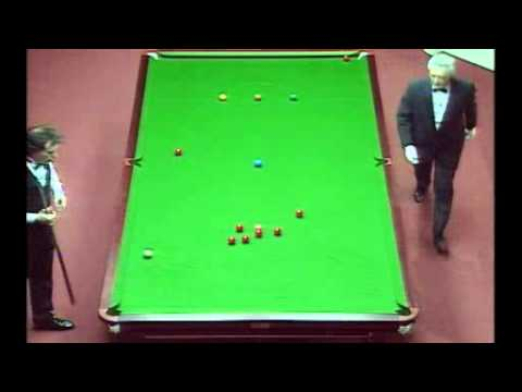 Jimmy White's wonderful 147. 2nd ever Snooker maximum 147 in Crucible