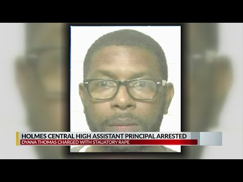 Holmes County Central High School Assistant Principal arrested