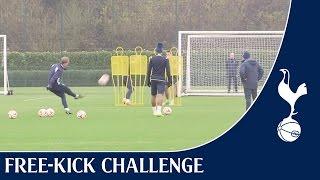 Free-kick Challenge ft. Eriksen, Pochettino & Lamela