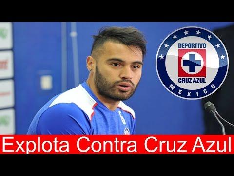 Julian Velazquez Explota Contra Cruz Azul MIRA QUE PASO!