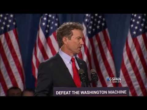 Senator Rand Paul Presidential Announcement Full Speech (C-SPAN)