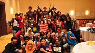 Malaysia YES 2013 Cultural Dance in Washington DC.