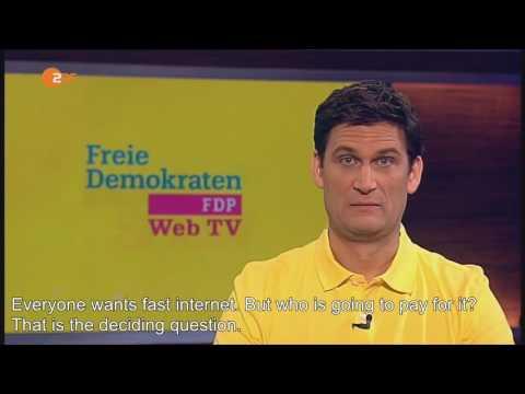 [English subtitles] Heute Show: FDP says it's 2016, Christian Ehring. 4/29/2016