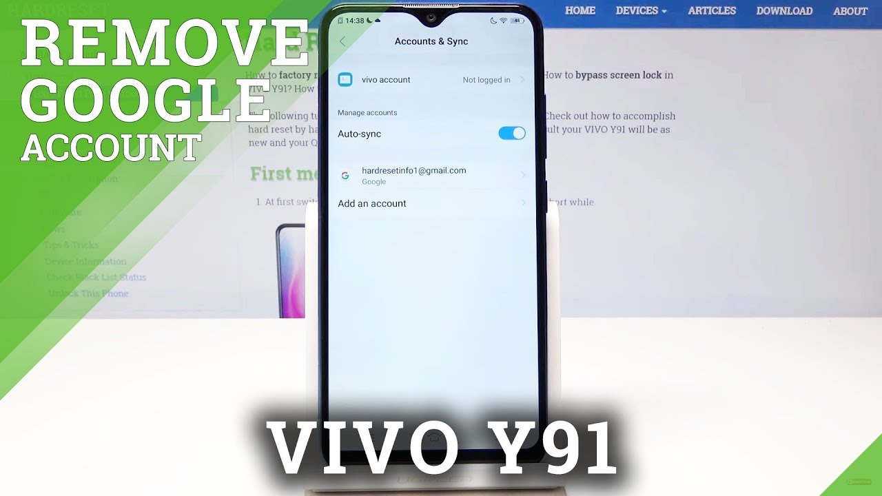 How To Sign In Google Account In Vivo Mobile How to log out