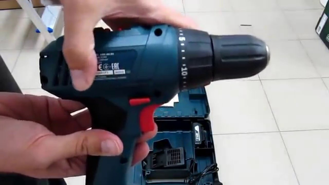 Bosch Accuboormachine Professional Unpacking Unboxing Cordless Drill Drivers Bosch Gsr 1800 Li 06019a8305