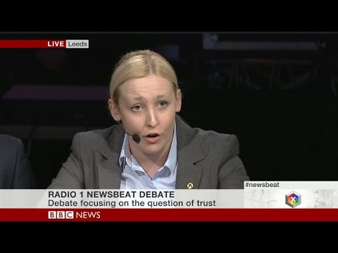Mhairi Black SNP Appearance on BBC Newsbeat Election Debates