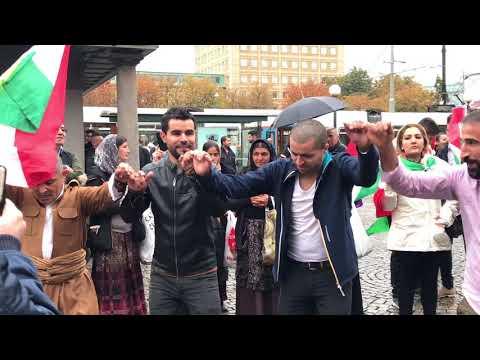 Kurden swed / Göteborg 1/10/2017 Referandum Kurdistan