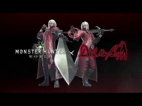 Dante Must Di(n)e in the Monster Hunter: World/Devil May Cry Collab
