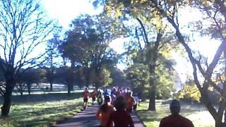 Morton Arboretum Fall Color 5K Race 2011 - Sunday - 10-02-11 - John V. Karavitis