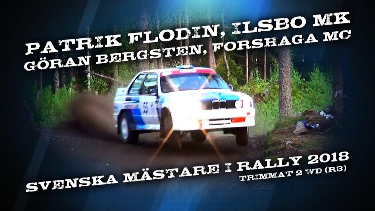 hight resolution of patrik flodin g ran bergsten bmw m3 sm guld i rally 2018
