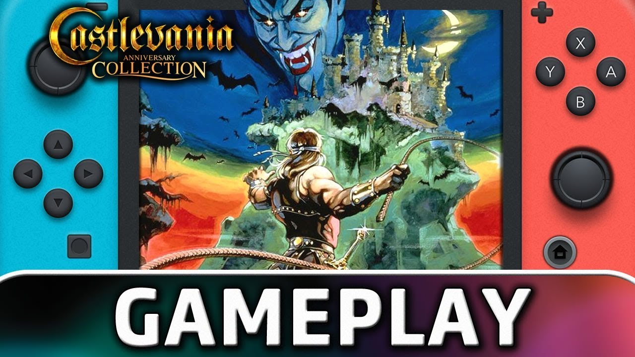 Castlevania Anniversary Collection   First 18 Minutes on Nintendo Switch