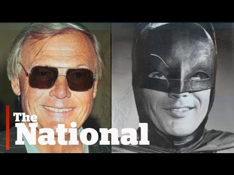Remembering Adam West, TV's original Batman