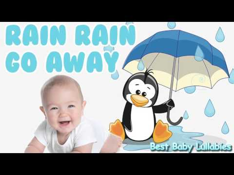 ♥ Baby Songs To Put A Baby To Sleep Lyrics-Baby Lullaby Music Lullabies  Rain  Rain Go Away   ♥