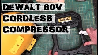 BOLTR: DeWalt Flexvolt Compressor | Gutless and Brushless?