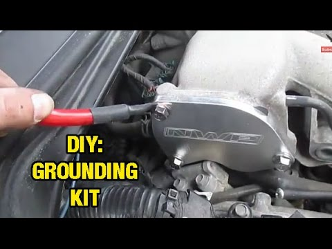 nissan 350z audio wiring diagram ignition how to install make a grounding kit altima maxima i35 murano youtube