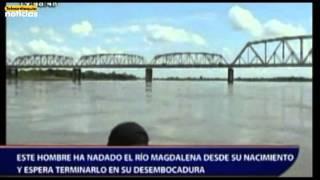Video Este hombre ha nadado el río Magdalena desde su nacimiento y espera terminarlo en su desembocadura download MP3, 3GP, MP4, WEBM, AVI, FLV November 2017
