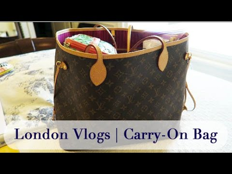 London Vlogs | Packing Part 1 | Carry-On Bag