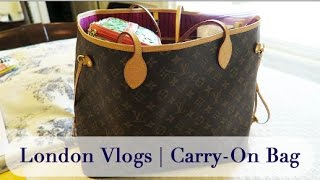London Vlogs   Packing Part 1   Carry-On Bag