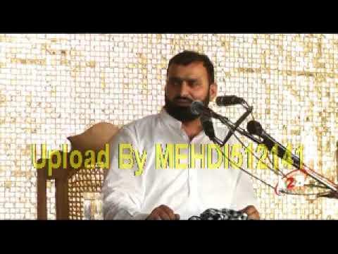 Khateeb-e-Ahl Bait Professor Abid Hussain Abidi (25 Shawal 1439 Hijri-Pakki Shah Mardan-Mianwali) thumbnail