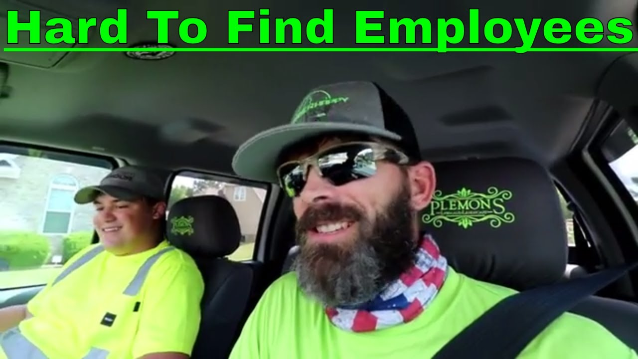 2018 Vlog #25 Mowing | Hard to Find Employees | Another New Mower