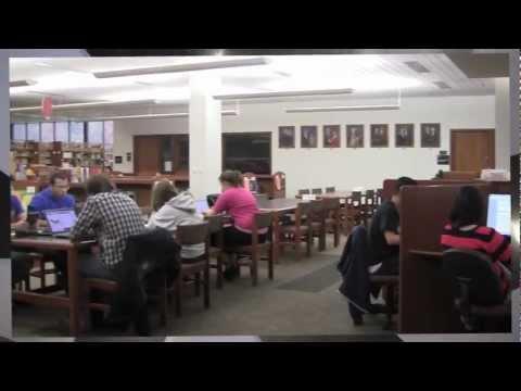 Thun Library At Penn State Berks