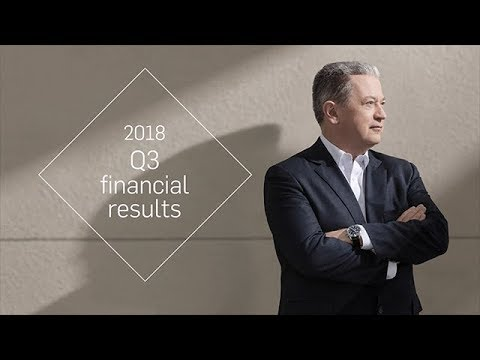 2018 Q3 financial results – Interview with Neil Bruce