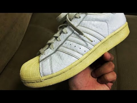 HOW TO UNYELLOW YOUR ADIDAS SUPERSTAR SOLE? 2020