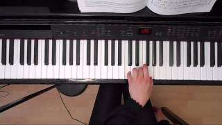 Indian Pony Race - D.C. Glover - C:1 Grade 4 ABRSM 2015/2016 - Left Hand Piano Tutorial