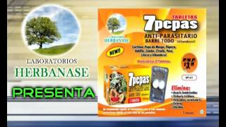 7 pepas Purgante Natural, Laboratorios Herbanase