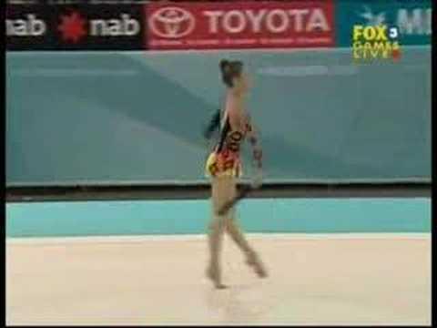 Raissa Panagiotou 2006 Commonwealth Games Clubs Team Final