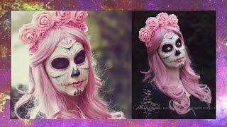 Sugar Skull Make up I Semmy´s Art