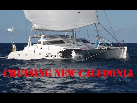 SAILING NEW CALEDONIA, Voyage 500 Catamaran, Coral Sea, South Pacific