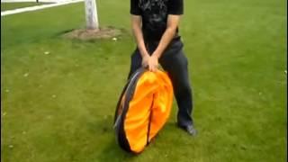 원터치 텐트 접는 법