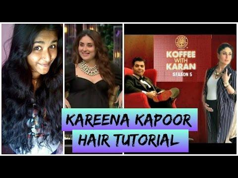 kareena-kapoor-hair-tutorial|-koffee-with-karan-season-5|-heatless-beach-waves