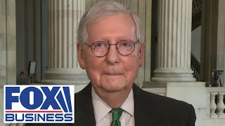 Mitch McConnell slams Biden's 'wildly inappropriate' economic policy