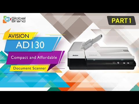 AVISION AD130 Compact and Affordable Document Scanner #Part1 | Global Brand Pvt Ltd thumbnail