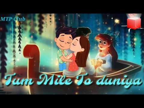 WhatsApp Status Video || Tum mile || Love Reprise || Lyrics video || MTP Club