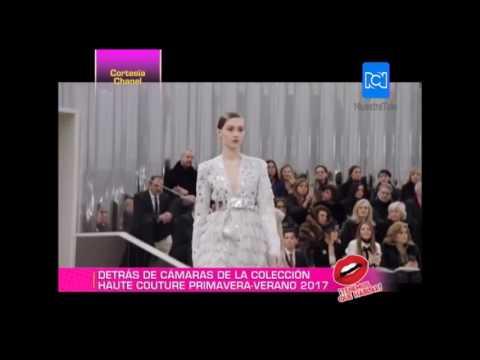 Así fue el detrás de cámaras de la colección 'haute couture primavera-verano' de Chanel