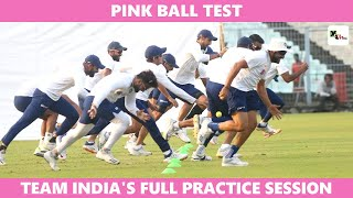 Watch: Injury scare for Rohit Sharma ahead of Pink Ball test at Eden Gardens | Pink Ball Test