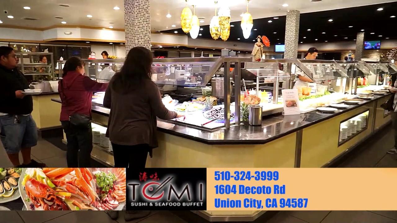 tomi seafood buffet union city hd youtube rh youtube com tomi sushi buffet san jose price tomi sushi buffet san jose price