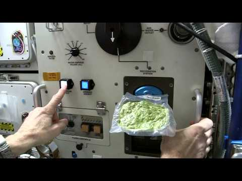 How To Cook Spinach In Space  Video