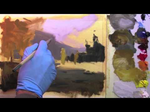 Preview | Painting Landscape in Oil, Part 2: Atmospheric Perspective with Richard Robinson