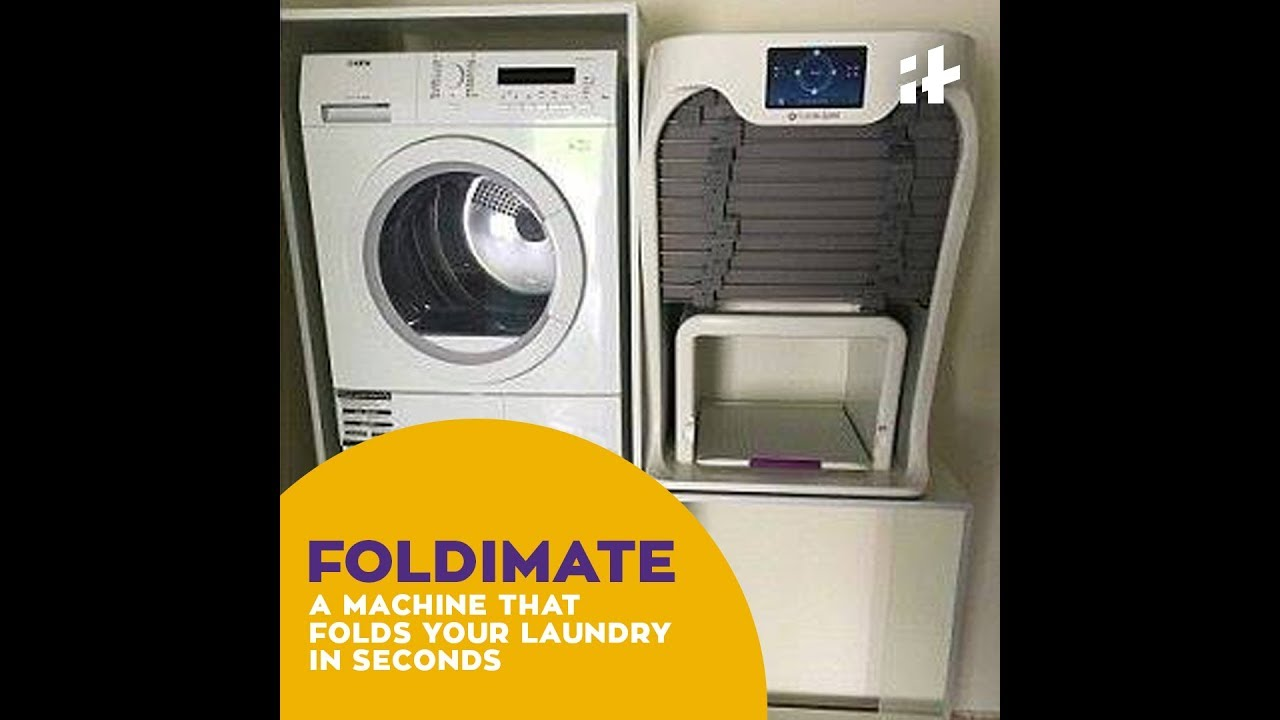 Indiatimes | Foldimate - This Machine Folds Your Laundry In Seconds