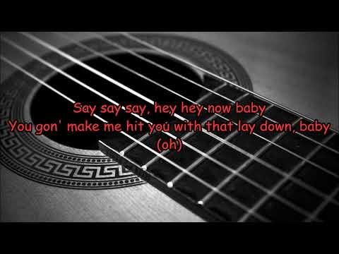 Maroon 5 - What Lovers Do ft. SZA (Acoustic Guitar Karaoke Lyrics on Screen)