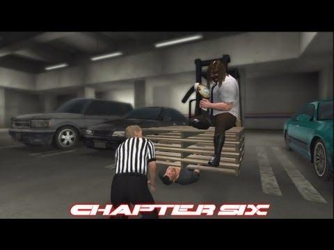WWE'13: Attitude Era Mode - Mankind Ep.6: Mankind vs. The Rock Empty Arena Match