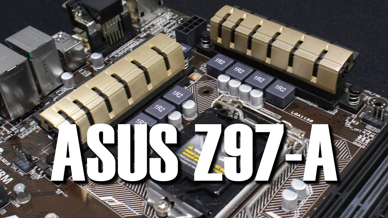 Asus Z97 A Motherboard Preview