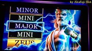 "Akafuji Slot★March 26 Part 2 ""Big Win Dramatic Recovery""★ZEUS Son of Kronos Slot Bet $2.25, Barona"